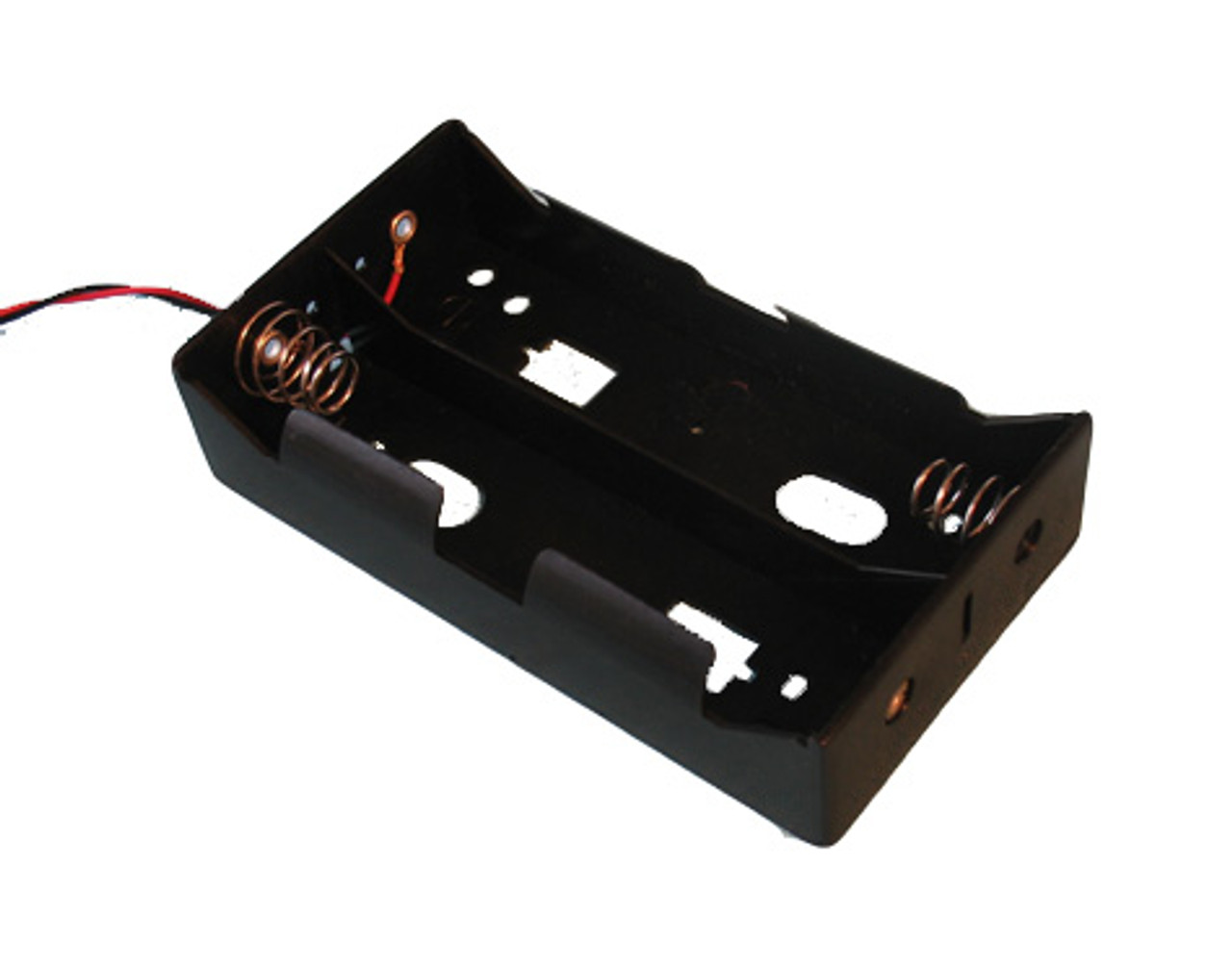 Plastic Battery Holder, 4D