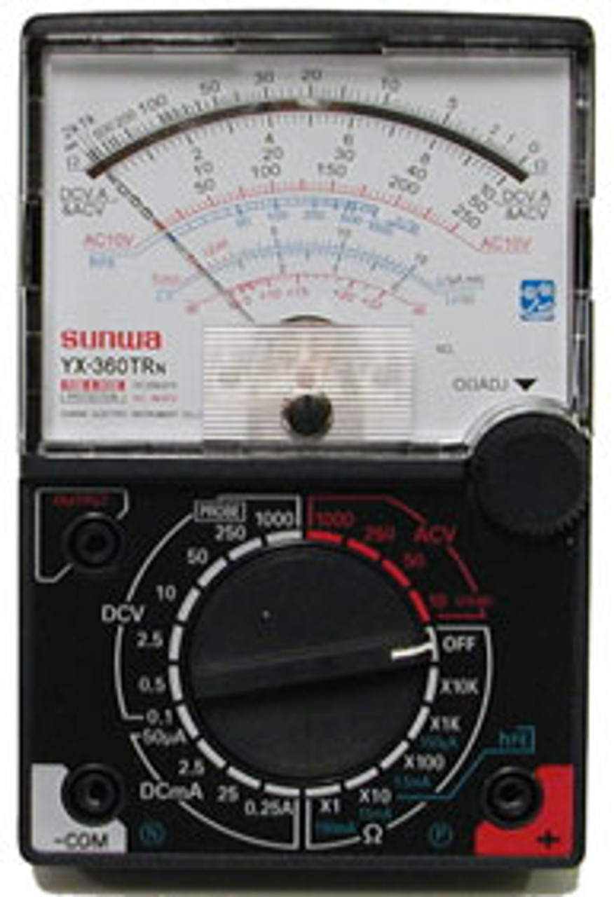 Desktop Analog Multimeter