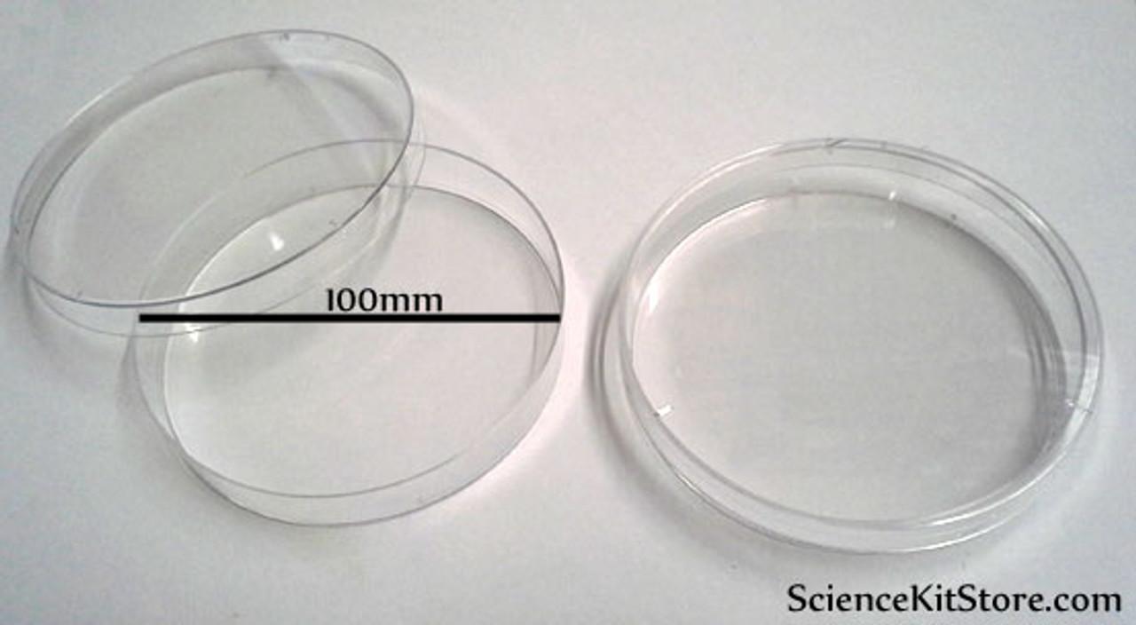 Petri Dish PolyStyrene (100x15 mm, Pack of 20)