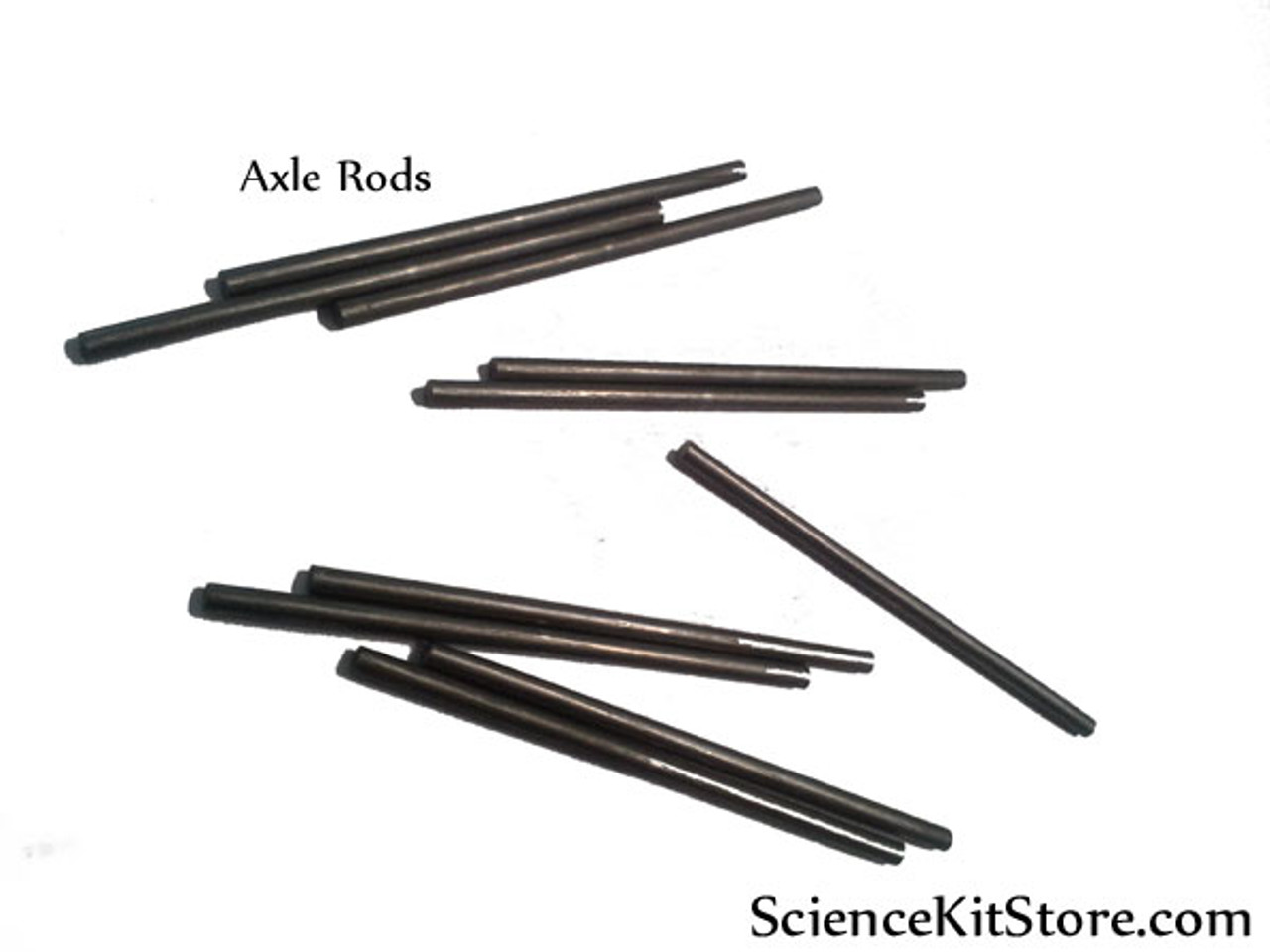 Axle Rods for Wheels (Pack of 100 Axles)