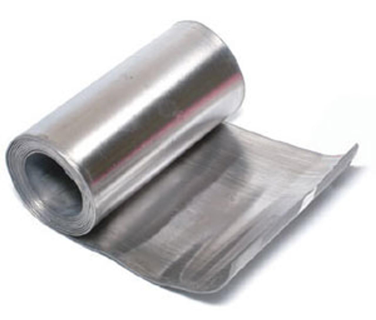 """Lead Metal Sheet, 4 Sq. Ft (1' x 4' x 1/16""""), 14 - 15 Lbs"""