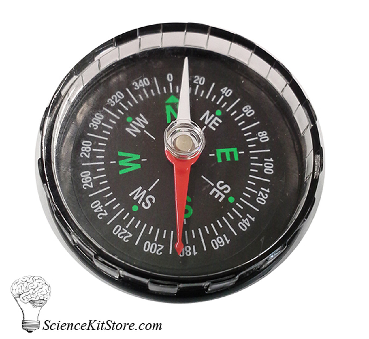 Plastic Compass without Liquid