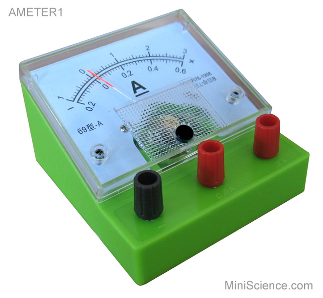 Ammeter, Desktop, Dual Scale