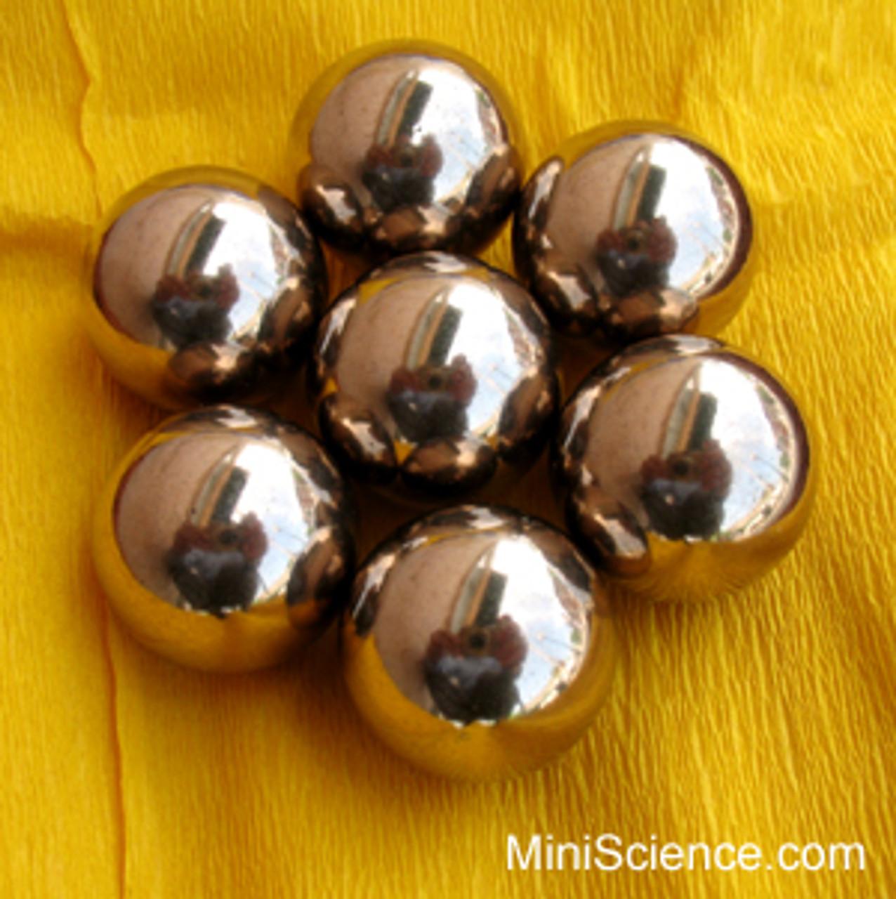 Brass Balls 1/2 inch pack of 10