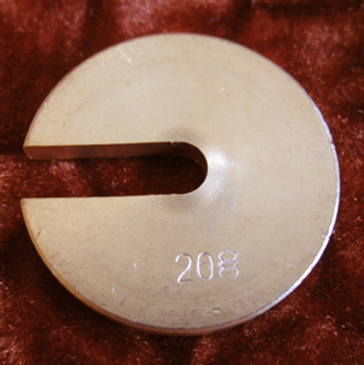 Slotted Weight, 20 Gram