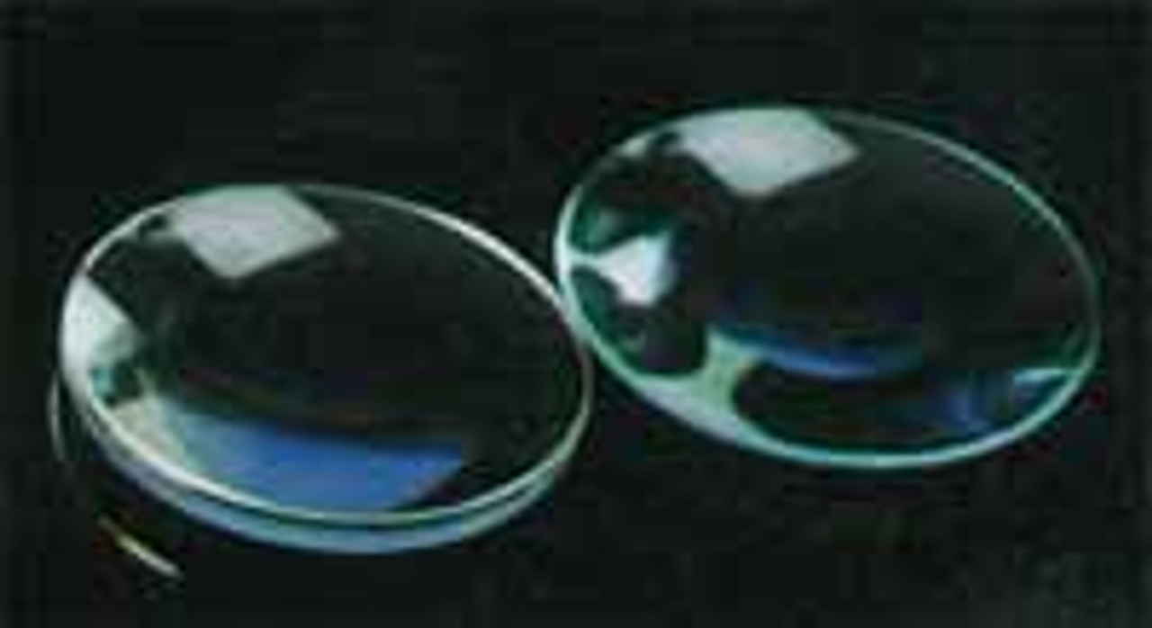 Lenses Spherical, Unmounted, Bi-Convex 38 mm Diameter