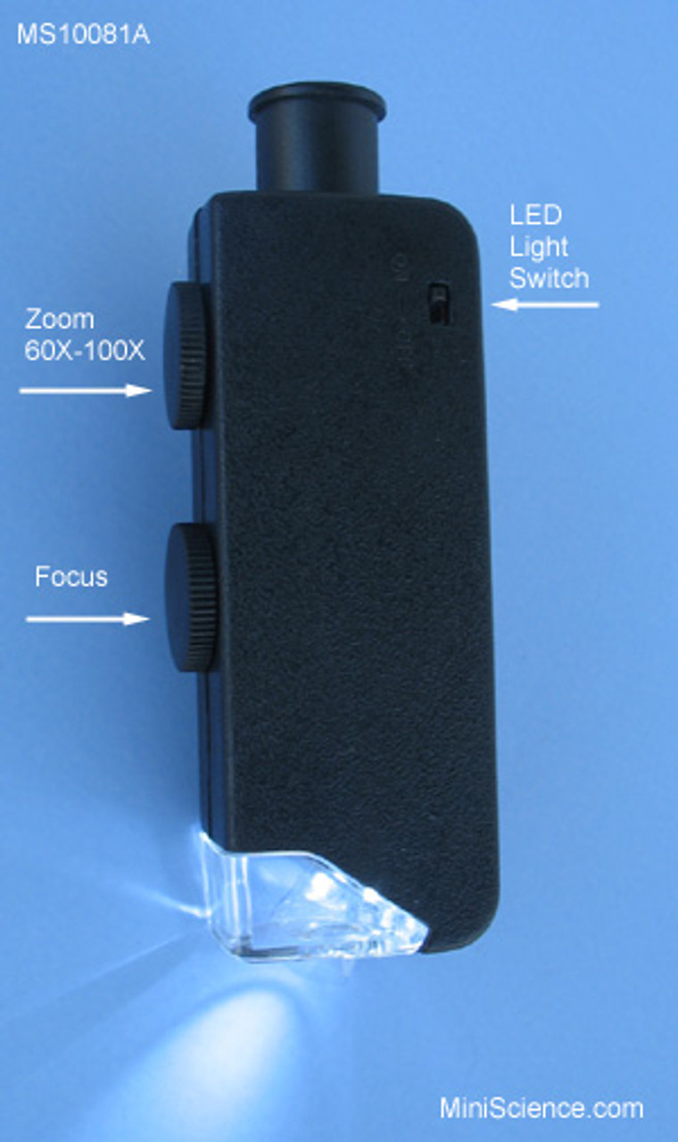 Illuminated Zoom Microscope