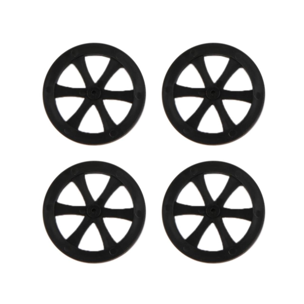 Plastic wheels