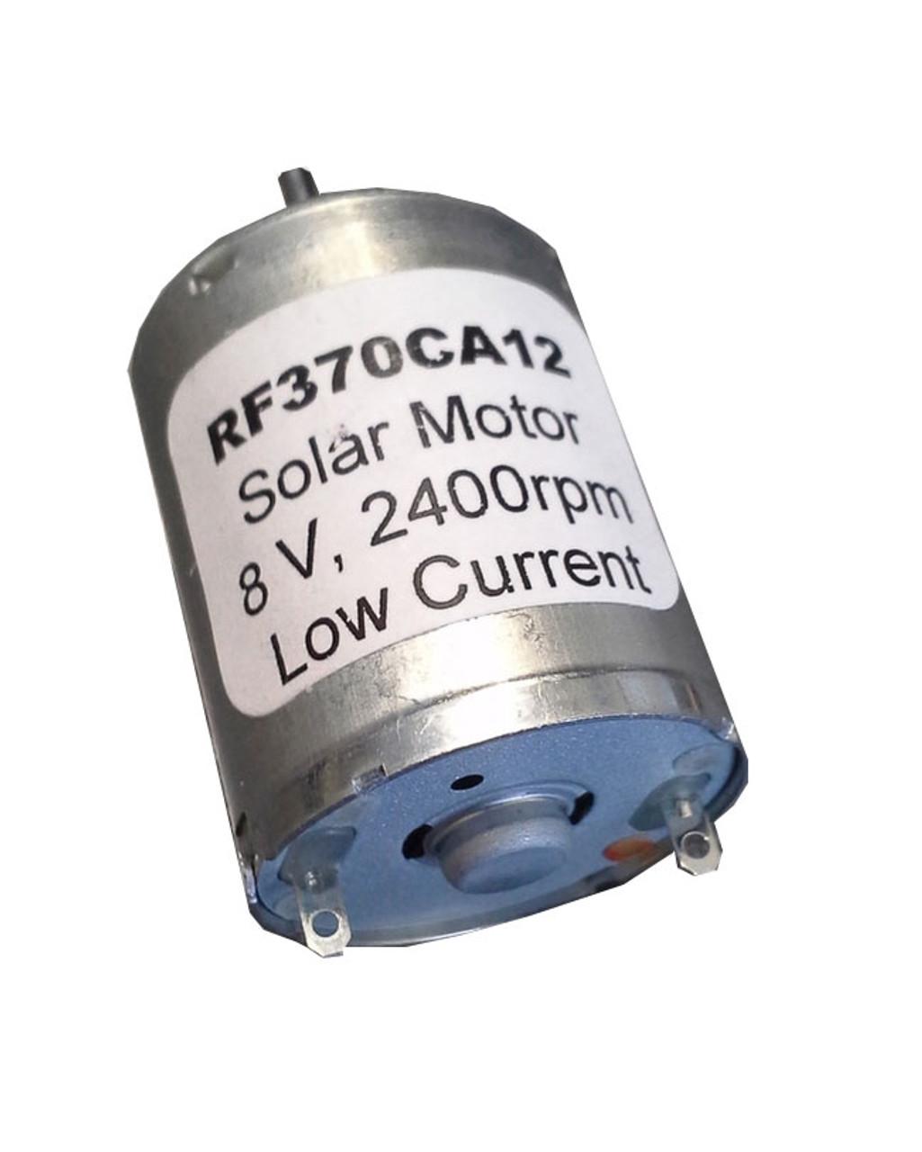 DC Motor, 8 V, 2400 RPM