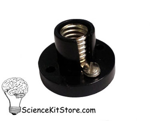 Lamp Holder, Black color (Miniature Base, Bulb Socket)