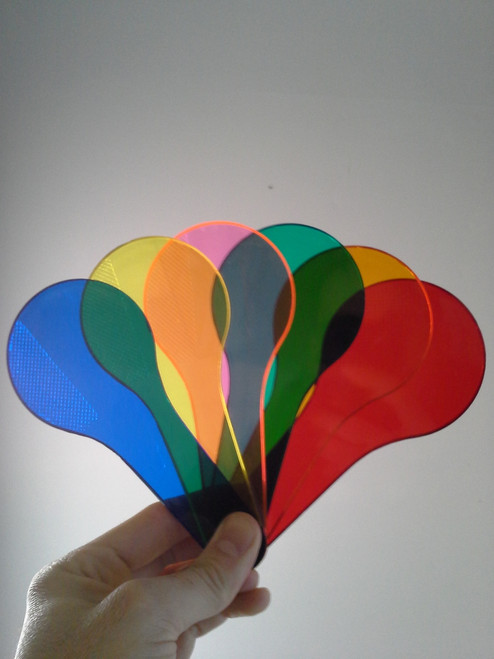 Color Paddles, Set Of 6