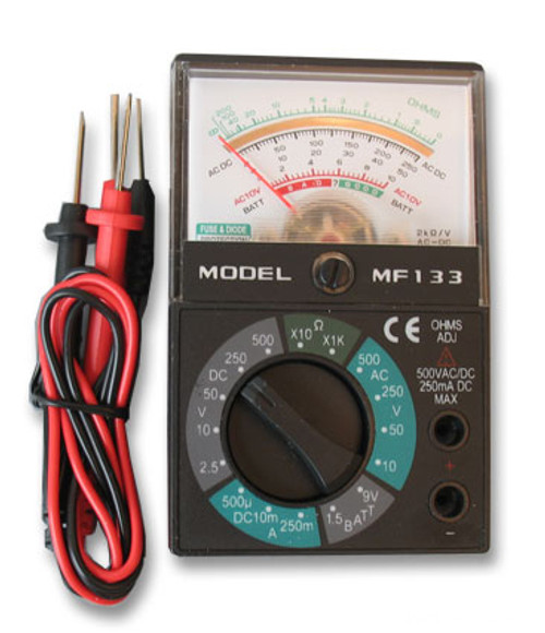 Basic Analog Multimeter