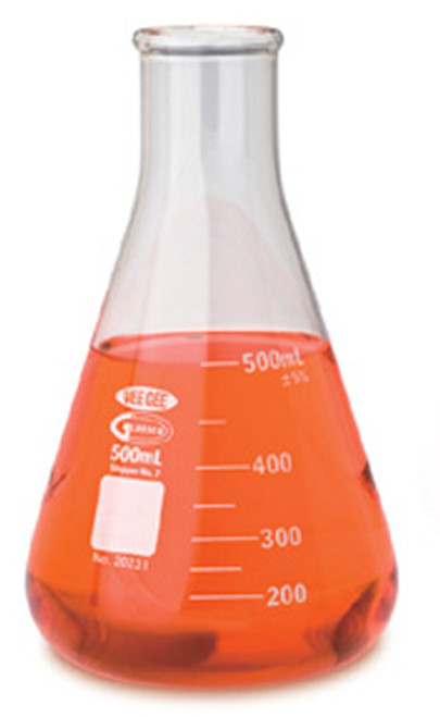 Flasks, Erlenmeyer, 500mL