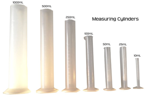 Graduated Measuring Cylinder, 100mL Polypropylene