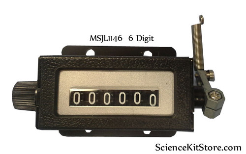 Mechanical Industrial Counter, 6 Digit
