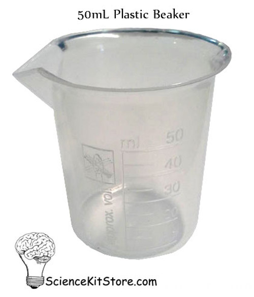 Beaker 50mL, Polypropylene