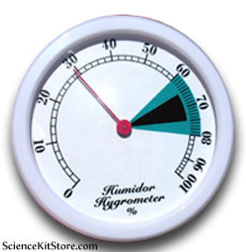 Hygrometer, Desktop and Wall Mount, 75mm