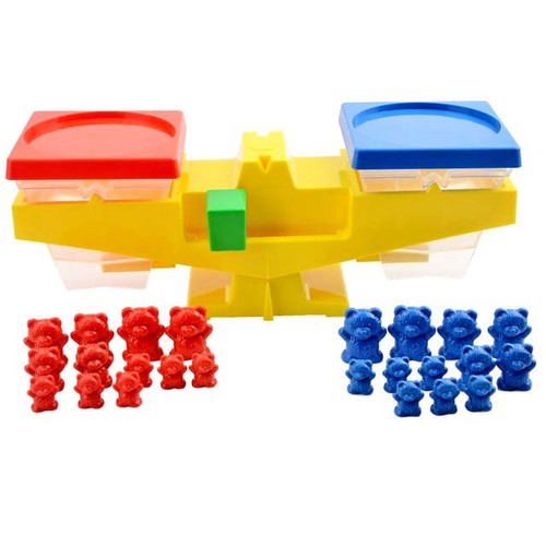 Educational Balance Scale (with plastic weights)