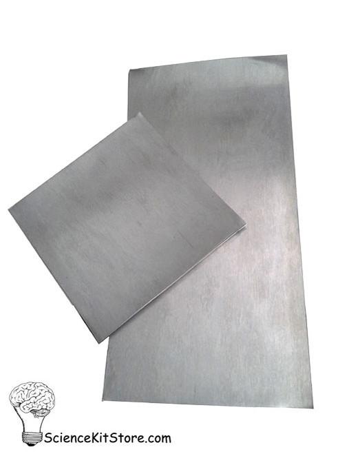 "Zinc Plates/Electrodes - 6"" x 12"""