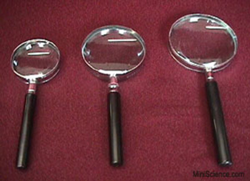 Magnifying Glass, Hand Held Magnifier