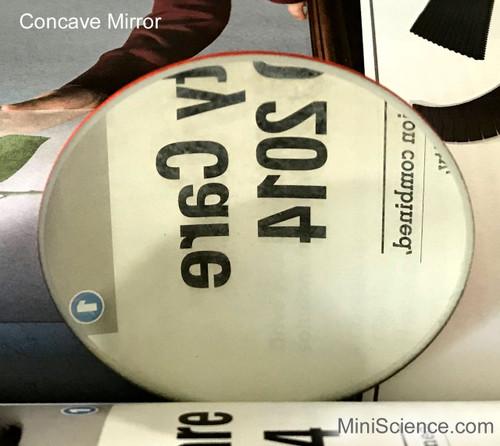 Mirrors, Spherical, Concave