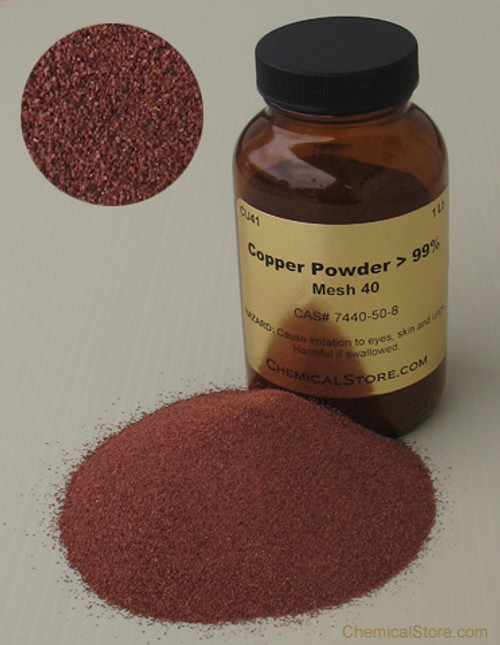 High purity atomized copper powder -40/+100 US Mesh has the largest grains in compare with our other copper powder products.