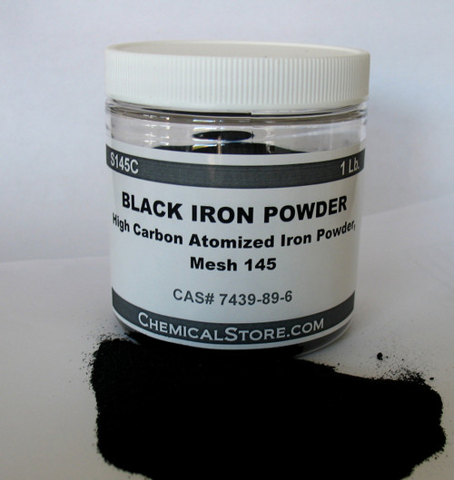 Small packages of steel powder S145C are available for test and evaluation.  Standard packages are 55-Lb plastic pails.