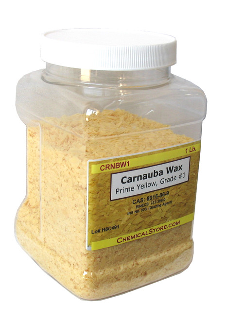 Carnauba wax flakes is a hard wax that provides lustrous gloss properties to many commercial wax formulations.