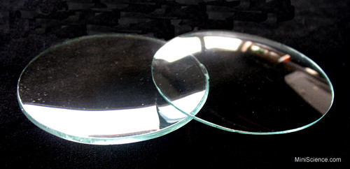 Clear watch glasses are used for weighing and drying small amounts of material. These watch glasses are perfect for science project displays where you need to display minerals, insects, crystals and many other materials.
