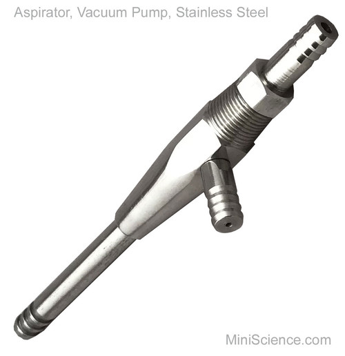 Aspirator, Vacuum Pump, Stainless Steel