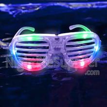LED Shutter Shades Multicolor