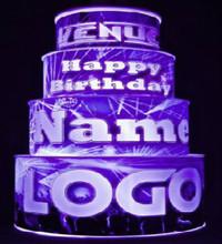 Custom LED Cake