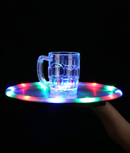 LED 14 Inch Serving Tray - Multicolor