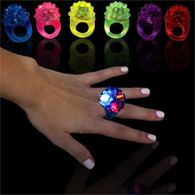 Flashing Bubble Rings