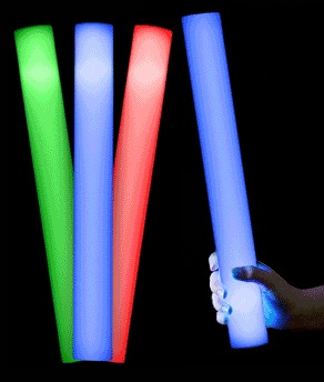 LED Foam Glow Sticks