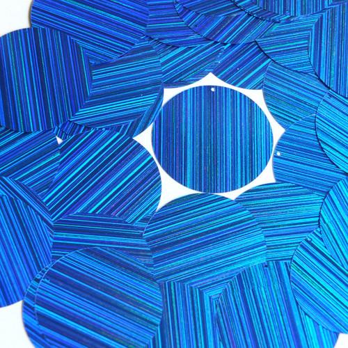 "1.5"" Sequins Royal Blue City Lights Metallic Reflective"