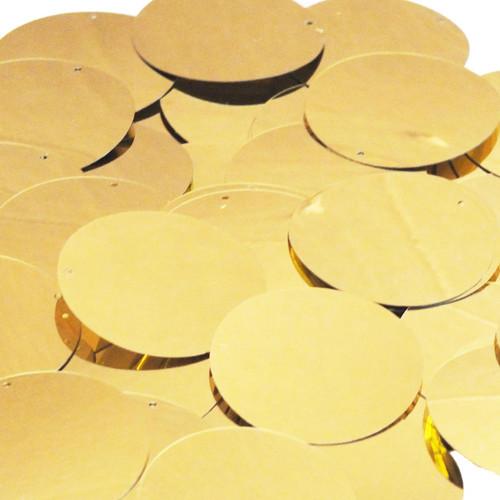 """1.5"""" Sequins Gold Metallic"""