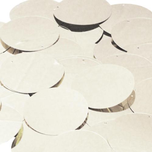 "1.5"" Sequins Silver Metallic"