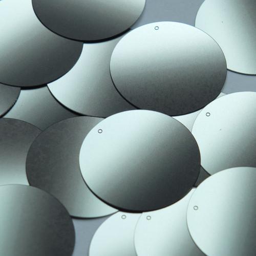 "1.5"" Sequins Black Gray Ombre Semi Matte Metallic"