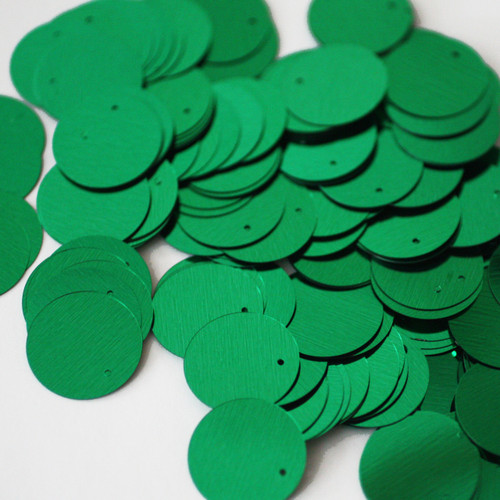 20mm Sequins Green Metallic