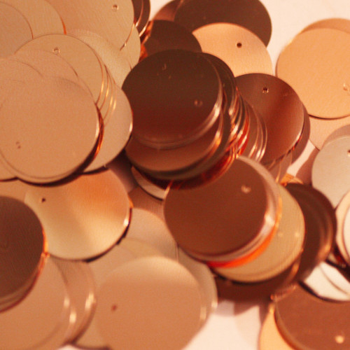 20mm Sequins Copper Metallic