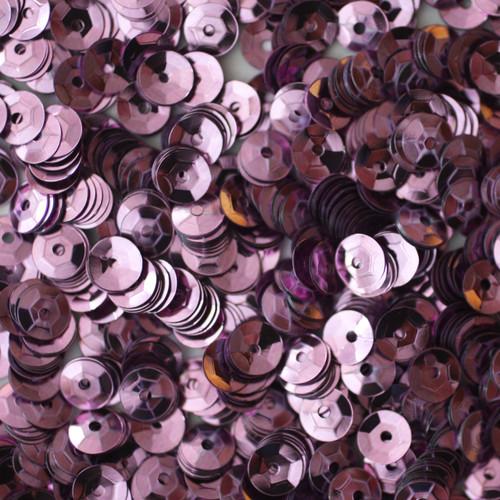 5mm Cup Sequins Lavender Lilac Metallic