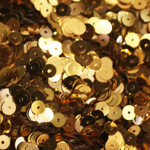 5mm Sequins Gold Metallic