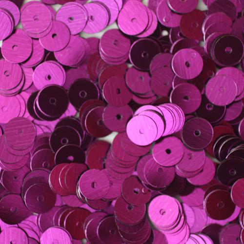 6mm Sequins Purple Metallic