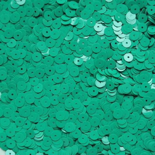 6mm Sequins Green Opaque