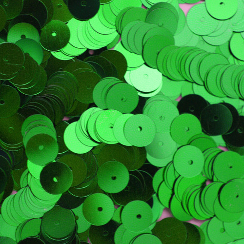 8mm Sequins green Metallic