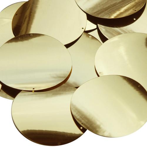 60mm Sequins Gold Metallic