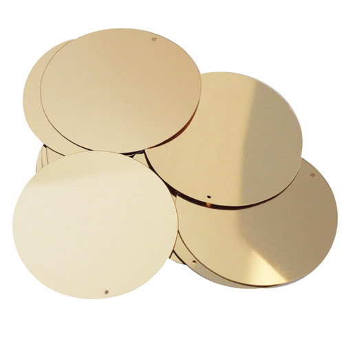 """2"""" Sequins Gold Metallic"""