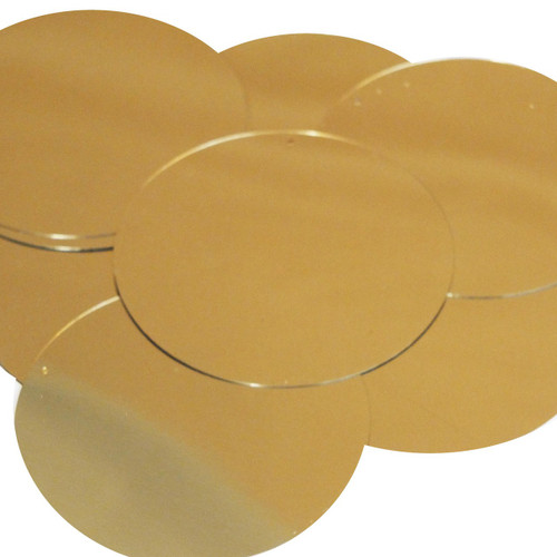"""3"""" Sequins Gold Metallic"""