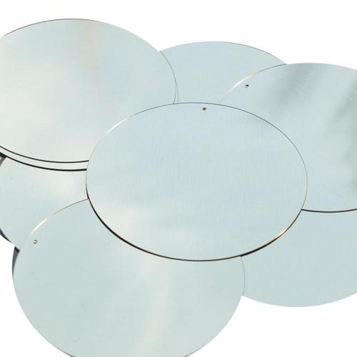 "3"" Sequins Silver Metallic"
